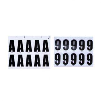 CARÁCTER 15MM ALFABETO ( cartela com 140 letras e 105 para as letras M e W) cada letra tem um codigo diferente de 00001 a 00026