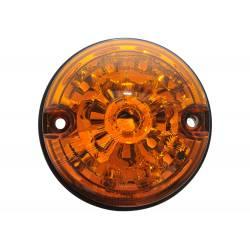 LANTERNA AMARELA TRAS. C/SOQUETE S/LAMP. DEFENDER