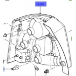 LANTERNA TRAS DIR FREELANDER II 06/14 ATE CHASSIS CH99999 - LR023968*